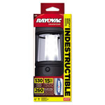 Rayovac Indestructible LED 3-D Lantern, 3 D Batteries, Black
