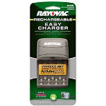 Rayovac Four-Position Battery Charger for AA or AAA NiMH Batt, Overnight Chrg