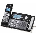 GE DECT6.0 2-Line Expandable Phone, Black