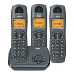 RCA 2162 Series One Line Cordless Phone, 2 Handsets
