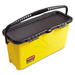 Rubbermaid Top Down Charging Bucket, Yellow/Black