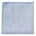 Rubbermaid Microfiber Cleaning Cloths, 12 x 12, Blue