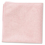 Rubbermaid Microfiber Cleaning Cloths, Red