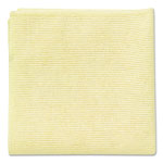 Rubbermaid Microfiber Cleaning Cloths, Yellow