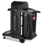 "Rubbermaid High Security Executive Cart, 22"" x 48-1/4"" x 53-1/2"", BK"