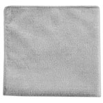 Rubbermaid Executive Multi-Purpose Microfiber Cloths, Gray, 12 x 12, 24/Pack