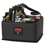 Rubbermaid Executive Quick Cart Caddy, Small, Dark Gray