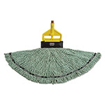 Rubbermaid Maximizer Blended Mop Heads, Large, Green