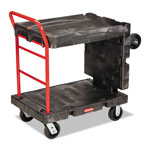 Rubbermaid Convertible Platform Truck 1000lb Capacity Bla