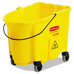 Rubbermaid 35 Quart Bucket w/Casters