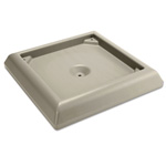 Rubbermaid Weighted Base Accessory for Ranger Container, Beige