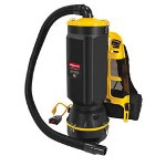 Rubbermaid 9VBH10 Commercial Backpack Vacuum Cleaner
