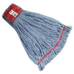 Rubbermaid Shrinkless Wet Mop Head, Blue