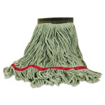 Rubbermaid Super Stitch Cotton Blend Mop, Small, Green