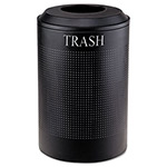Rubbermaid Black Recycling Bin, 26 Gallon