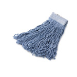 Rubbermaid Synthetic Wet Mop Heads, Blue, 24 oz, 5-in. Blue Headband