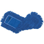 "Rubbermaid Twisted Loop Synthetic Dust Mop, 24""x5"", Blue"