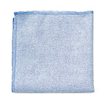 Rubbermaid Microfiber Cleaning Cloth, Blue, Case of 24