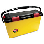 Rubbermaid Hygen Charging Bucket, 6.8 Gallon, Yellow
