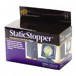 Read Right/Advantus Static Stopper Pad, Towelettes, Foil Packets, 24/BX