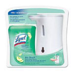 Lysol Healthy Touch Hand Soap System, Cucumber Splash