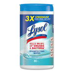 Lysol Disinfecting Wipes, Ocean Fresh Scent, Case of 6