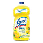 Lysol All-Purpose Cleaner, Sparkling Lemon & Sunflower Essence, Liquid, 40 oz Bottle