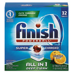Finish® Powerball Dishwasher Tabs, Orange Scent