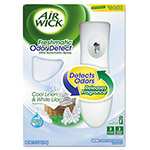 Air Wick ULTRA ODOR DETECT Starter Kit COOL LINEN & WHITE LILAC™ 4 Pack