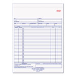 Rediform Carbonless Purchase Order Book, Dupl, Numbered, Bottom Punch, 8 1/2x11