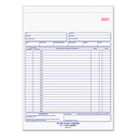Rediform Purchase Order Book, 8 1/2 x 11, Letter, Three-Part Carbonless, 50 Sets/Book