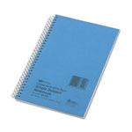 Rediform Wirebound 1 Subject Blue Kraft Notebook, College Rule, 7 3/4 x 5, 80 Sheets