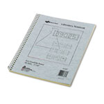 National Brand Duplicate Lab Notebook, Quadrille Rule, 11 x 9, White/Yellow, 100 Sheets