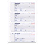 Rediform Money Receipt Book, 7 x 2 3/4, Carbonless Duplicate, 200 Sets/Book