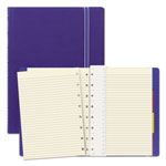 Rediform Notebook, College Rule, Blue Cover, 8 1/4 x 5 13/16, 112 Sheets/Pad