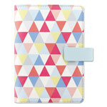 Filofax Fashion Organizer, Geometric Design, 6 3/4 x 3 3/4, 2017