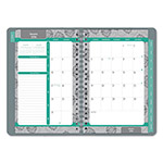 Blueline Soft Cover Design Weekly/Monthly Planner, 8 x 5, Cool Gray, 2016