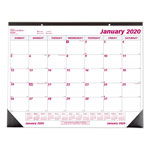 "Rediform Monthly Desk Pad Calendar, Non Refillable, 22"" x 17"""
