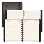 Filofax Soft-Touch Weekly Planner, 10 3/4 x 8 1/2, Black, 2019
