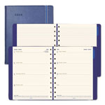 Filofax Soft-Touch Weekly Planner, 10 3/4 x 8 1/2, Blue, 2019
