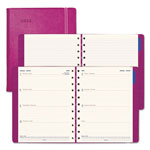 Filofax Soft-Touch Weekly Planner, 10 3/4 x 8 1/2, Fuchsia, 2019