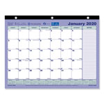Brownline Monthly Desk Pad Calendar, 11 x 8 1/2, 2017