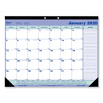"Rediform Monthly Desk Pad Calendar, Non Refillable, 21.25"" x 16"""