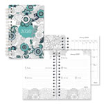 Blueline Doodleplan Weekly/Monthly Planner, 8 x 5, Botanica, 2019