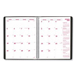 Brownline Essential Collection 14-Month Ruled Planner, 11 x 8 1/2, Black, 2019