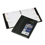 Brownline CoilPRO Weekly Planner, Ruled, 1 Week Spread, 6 3/4 x 8 3/4, Black