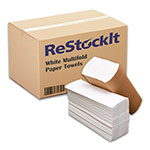 ReStockIt White Multifold Paper Towels