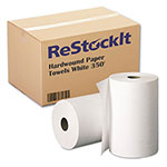 ReStockIt White Hardwound Paper Towels, 350'