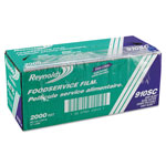 "Reynolds PVC Food Wrap Film Roll in Easy Glide Cutter Box, 12"" x 2000 ft, Clear"