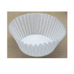 Reynolds Fluted Baking Cups, Dry-Waxed Paper, White